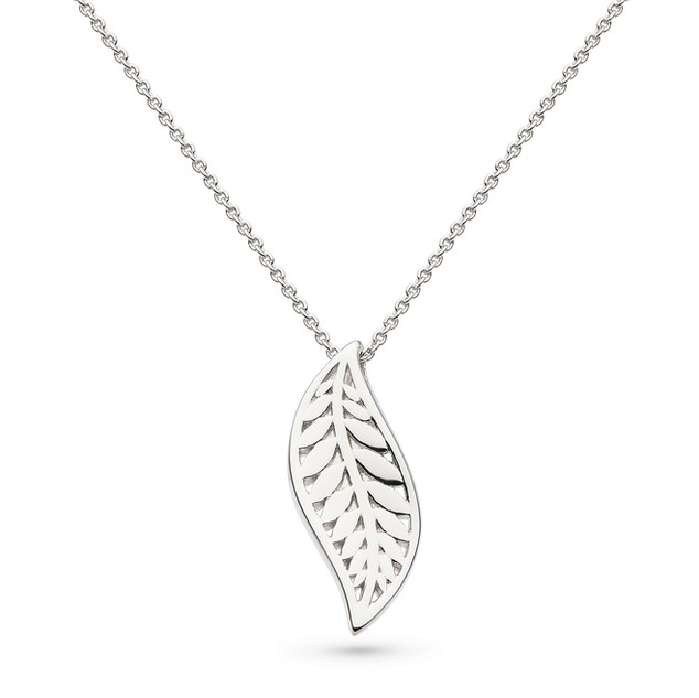 "Blossom Eden Leaf 18"" Necklace £68"