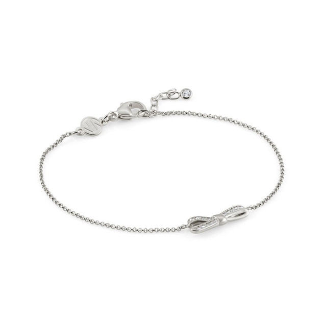 NOMINATION Bracelet with Small Bow & Cubic Zirconia in Silver Product Code: 146301/010 £40.00