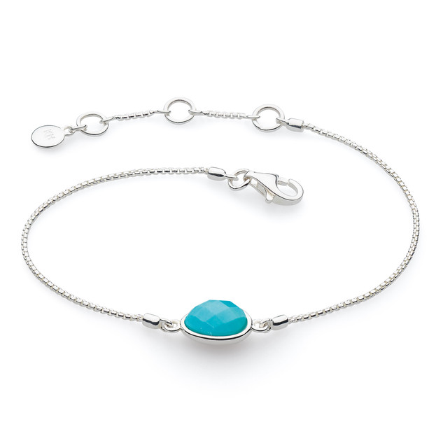 Coast Pebble Stone Mini Bracelet Product code 71802TQ  £55.00