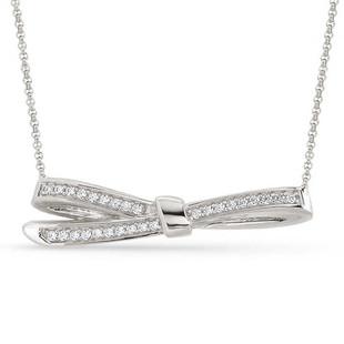 Nomination MyCherie Silver Large Bow Necklace 146305/010 £70.00 -SALE Was £70 NOW £40