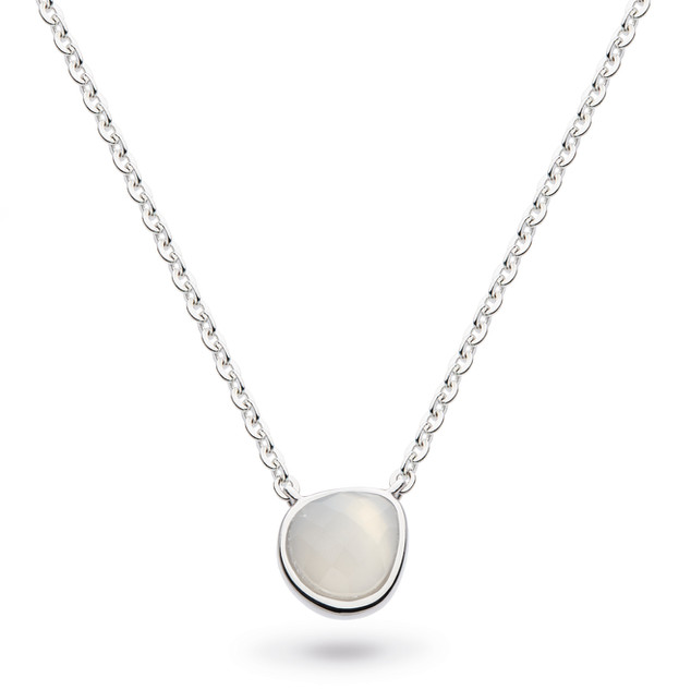 Coast Pebble Moonstone Mini Necklace Sterling Silver Product code 9184MS  £58.00 NOW WITH 25% OFF £43.50