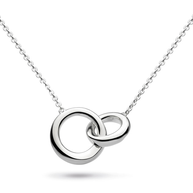Bevel Cirque Link Necklace Sterling Silver Product code 9188  £65.00