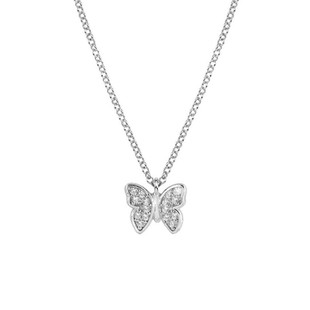Gioie Sterling Silver & CZ Butterfly Necklace 146201/016 £48.00