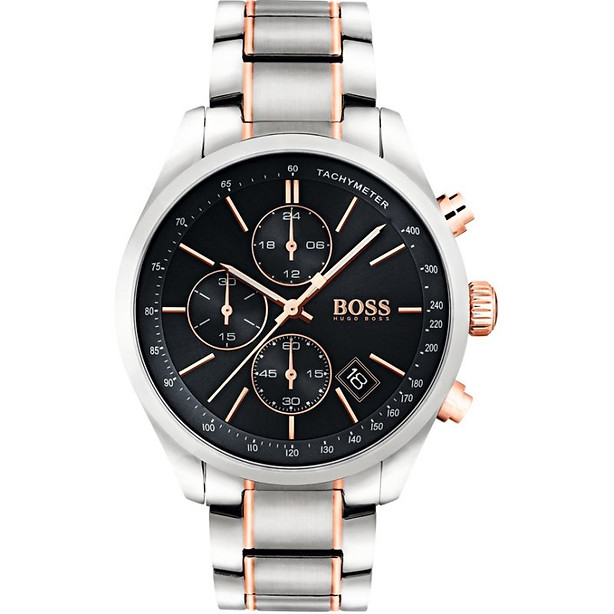 Mens Hugo Boss Grand Prix Chronograph Watch 1513473 £379