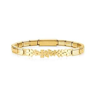 NOMINATION Trendsetter Clover Bracelet  Code: 021111/007 £50.00