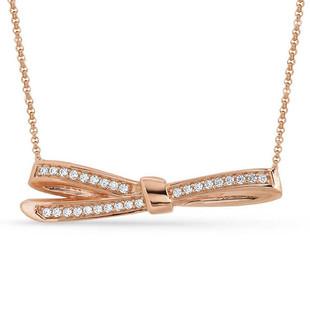 Nomination MyCherie Rose Gold Large Bow Necklace 146305/011 - SALE was £70 NOW £40