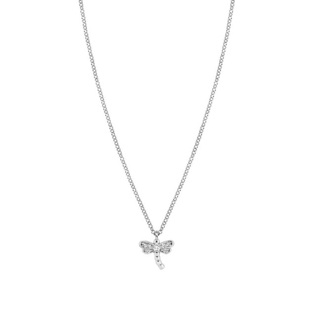 NOMINATION Gioie Cubic Zirconia Dragonfly Necklace 146201/013 £48.00