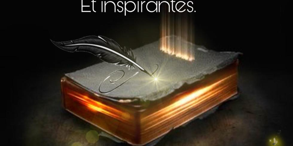 POPOTES d'écritures inspirées et inspirantes.