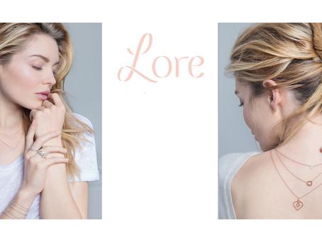 Lore...Nouvelle collection, chic et raffinée!
