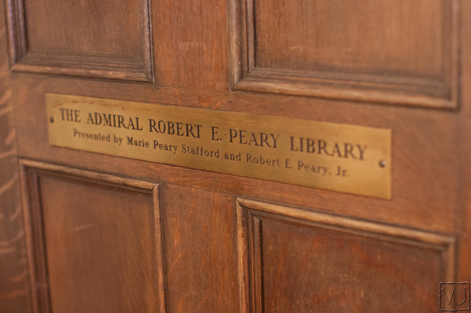 Дверь в библиотеку