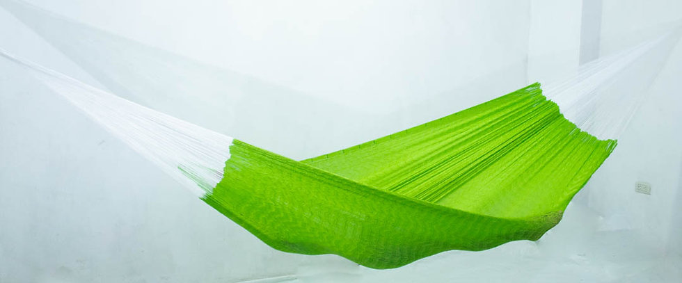Hamaca tradicional Verde neón