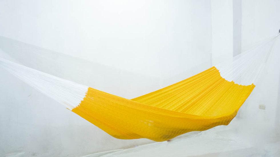 Hamaca tradicional Amarillo oro