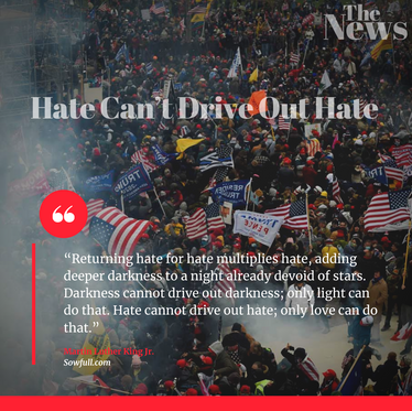 Hate Can't Drive Out Hate
