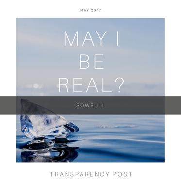 May I Be Real?
