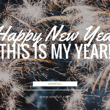 """""""This is My Year!"""""""