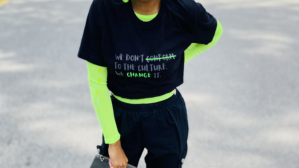 Change the Culture (Neon Green)