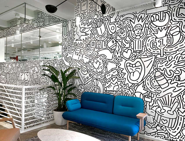 Seat Geek Mural
