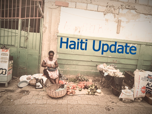 A Very Important Update on Haiti