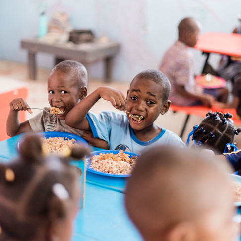 LIFE-sustaining nutrition for children