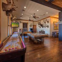 The lodge gameroom
