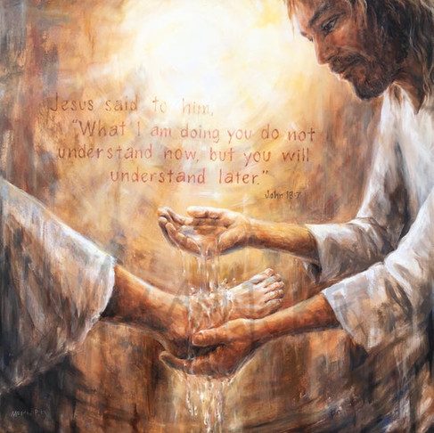 Washing the feet of those who will betray you
