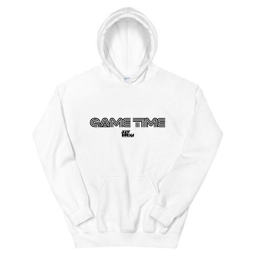 Game Time Hoodie BLK Text