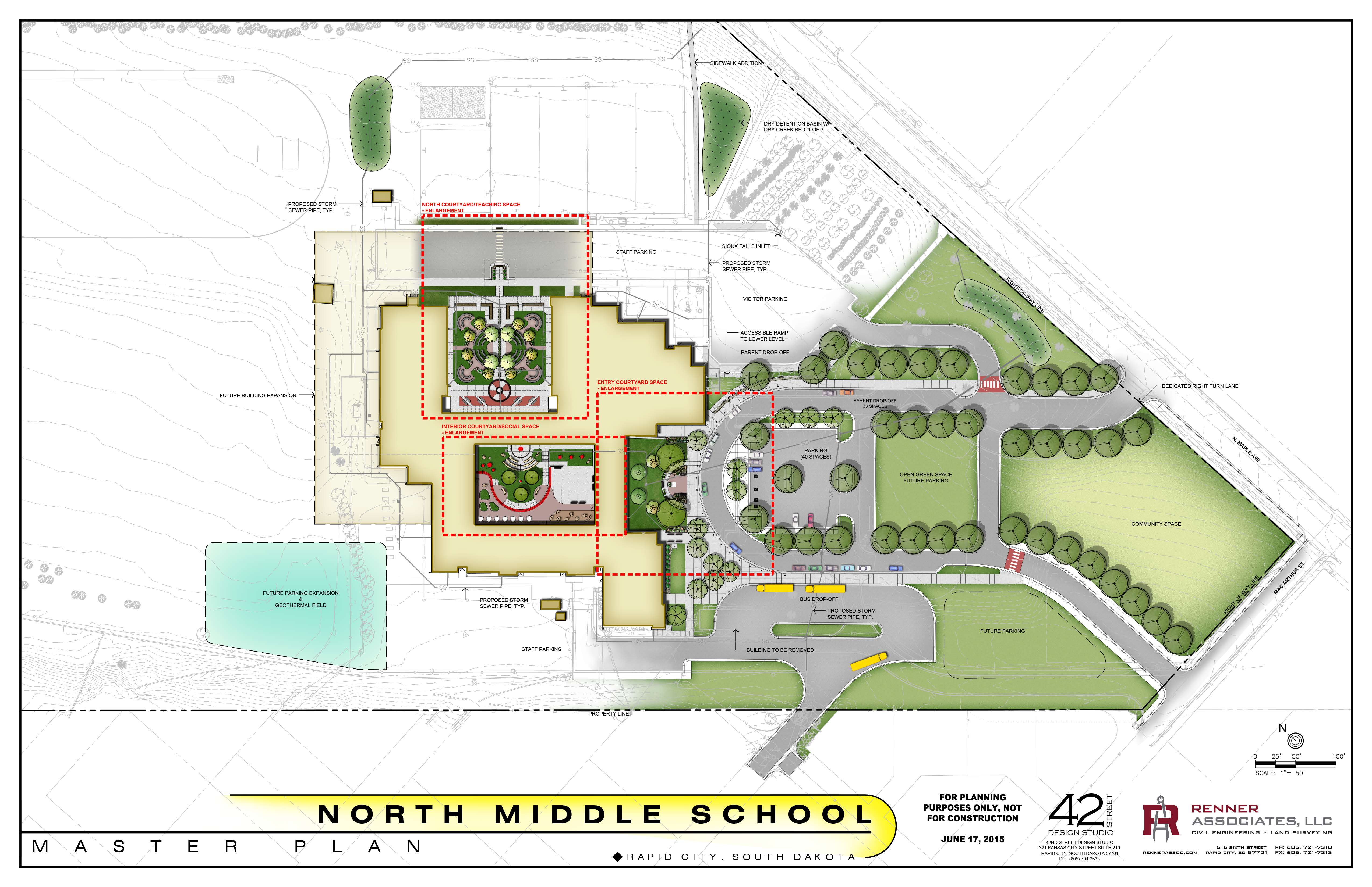 North Middle School Master Plan