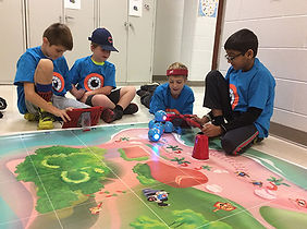 STEM robotics in the classroom