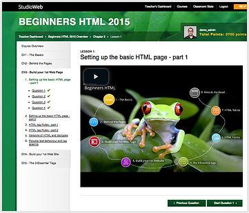 Beginner HTML Web Programming Software