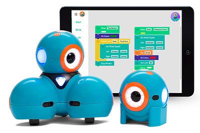 Dash and Dot and Wonder Workshop robotics app