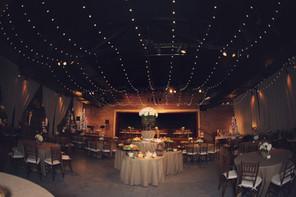 Beautifully elegant wedding reception