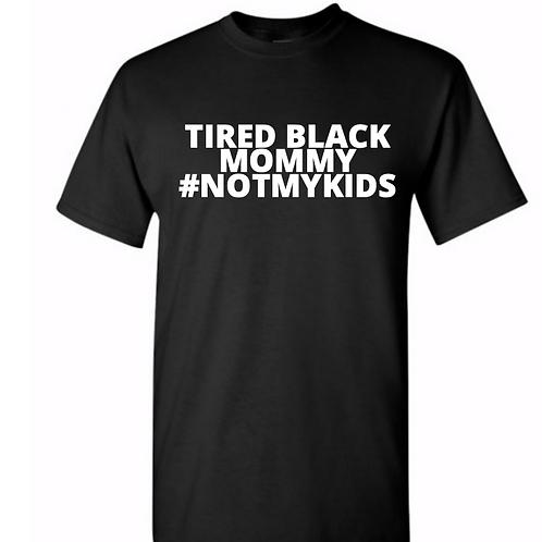 Tired Black Mommy
