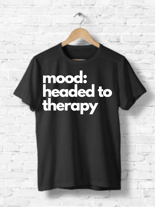 mood: headed to therapy