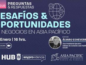 Desafíos & Oportunidades de negocios en el Asia Pacífico