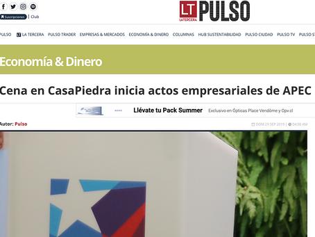Cena en CasaPiedra inicia actos empresariales de APEC