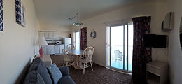 Wildwood Crest NJ Motels Conca D'or Type A living room/kitchen area