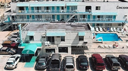 Wildwood Crest NJ Motels Conca D'or Street View
