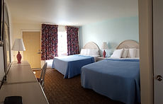 Wildwood Crest NJ Motels Conca D'or Type A bedroom