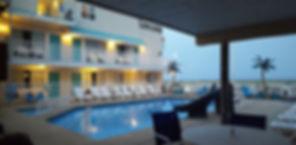 Wildwood Crest NJ Motels Conca D'or Pool area