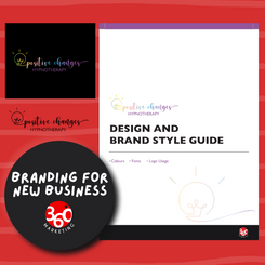Branding for new business - Positive Changes Hypnotherapy