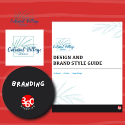 Branding and new website for Colonial Village Resort
