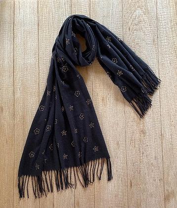 Sjaal-FR3/S201329-Zwart