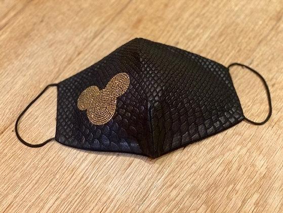 Mondmasker-Black Mickey