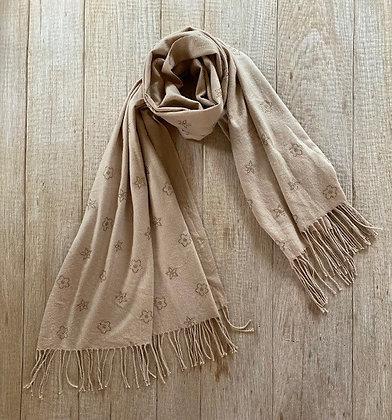Sjaal-FR3/S201329-Beige