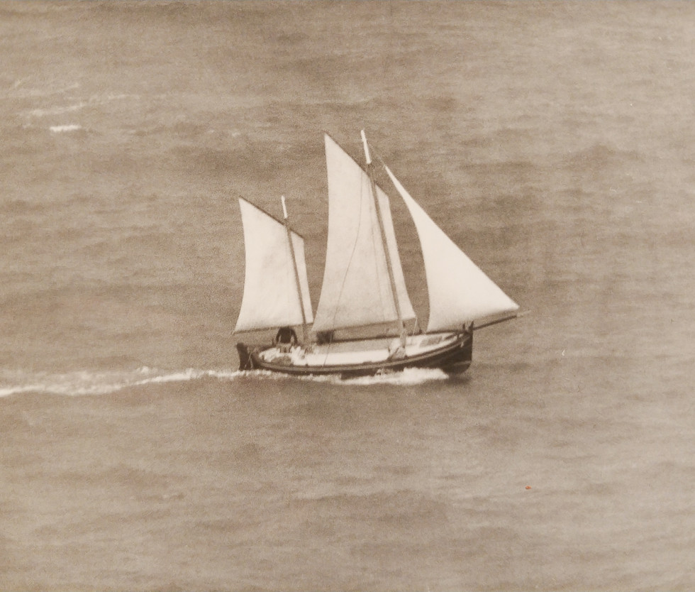 The DonMar sailing, 1970s