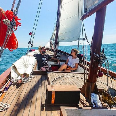 Sailing in the Riviera del Conero