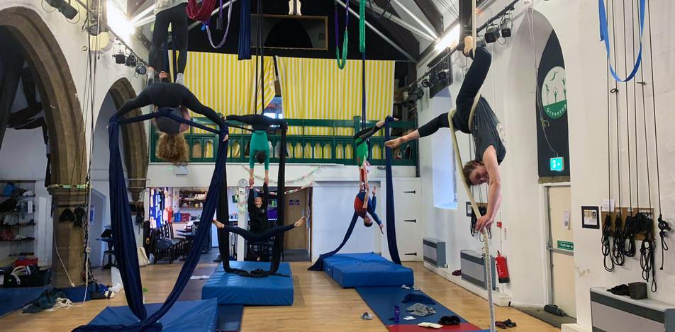 ALL LEVELS 1 OMIC course, Greentop circus, Sheffield Nov - Dec 2019