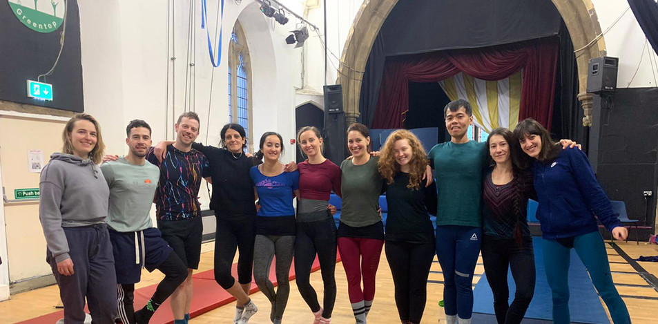ALL LEVELS OMIC course, Greentop circus, Sheffield Nov - Dec 2019