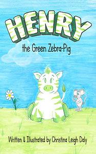 Henry the Green Zebra-Pig
