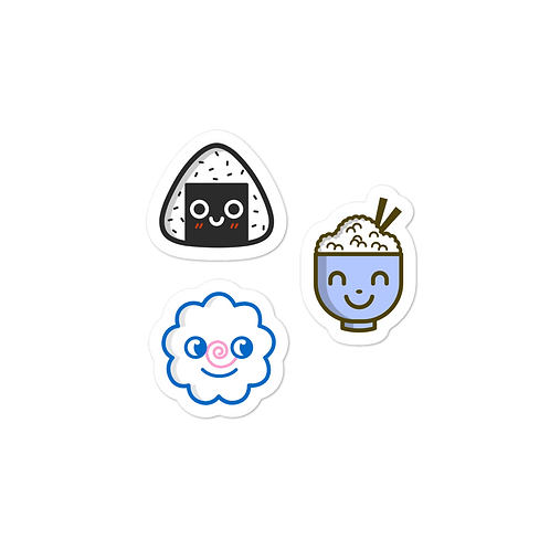 Savory Food Faces *sticker sheet*
